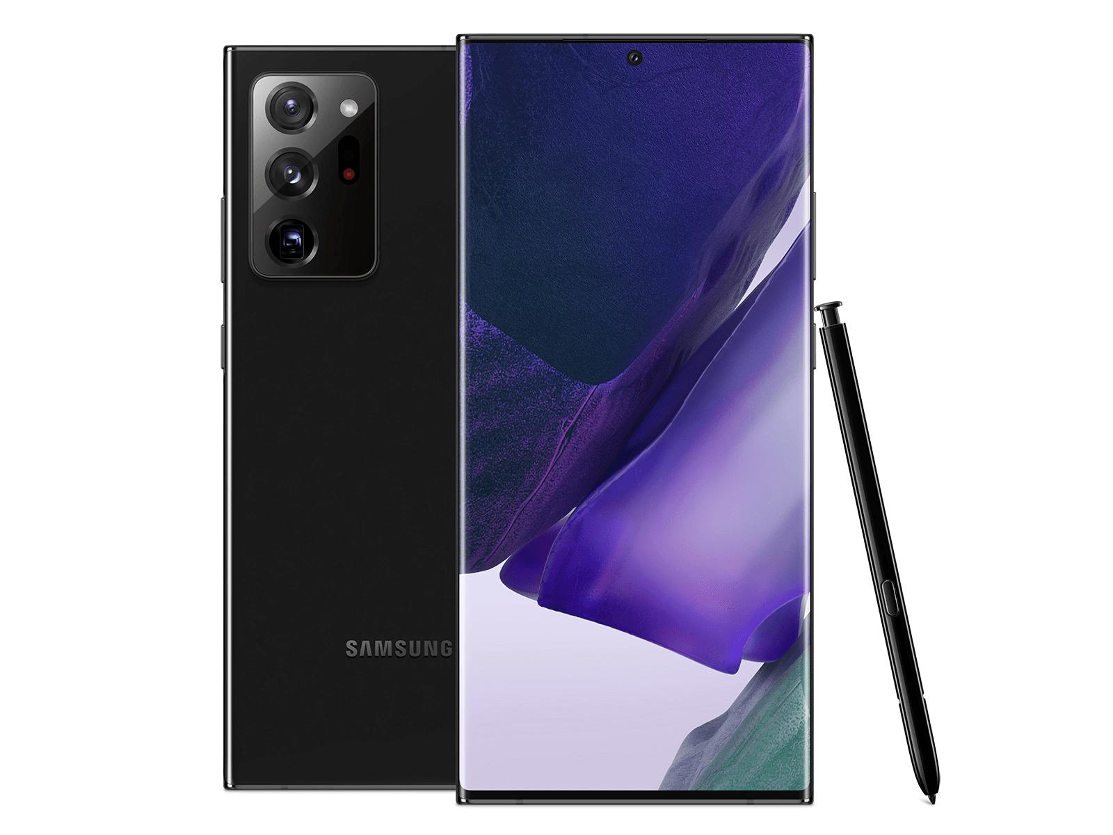 Samsung Galaxy Note20 Ultra 5G - Mystic Black