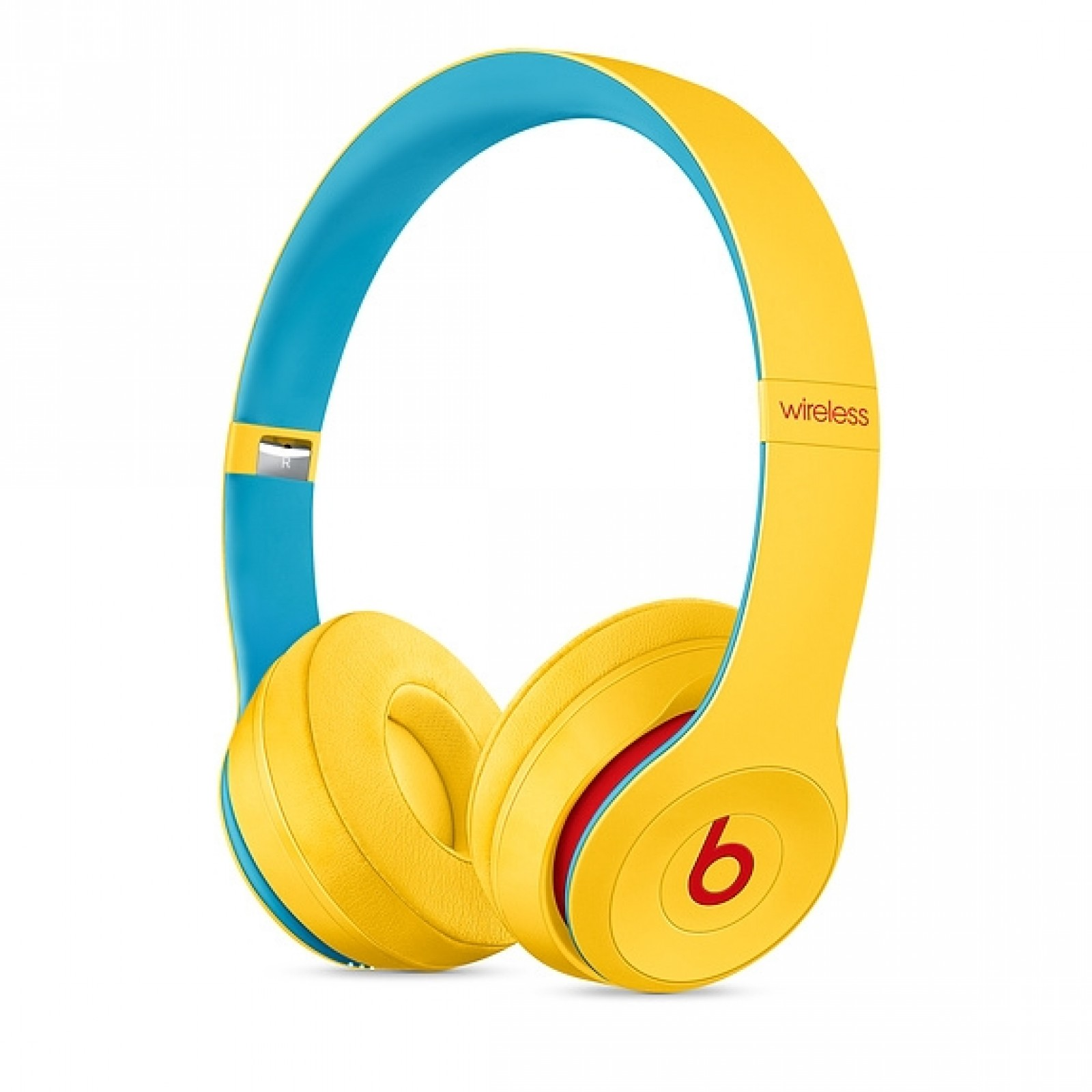Beats Solo3 Wireless Headphones - The Beats Icon Collection - Club Yellow