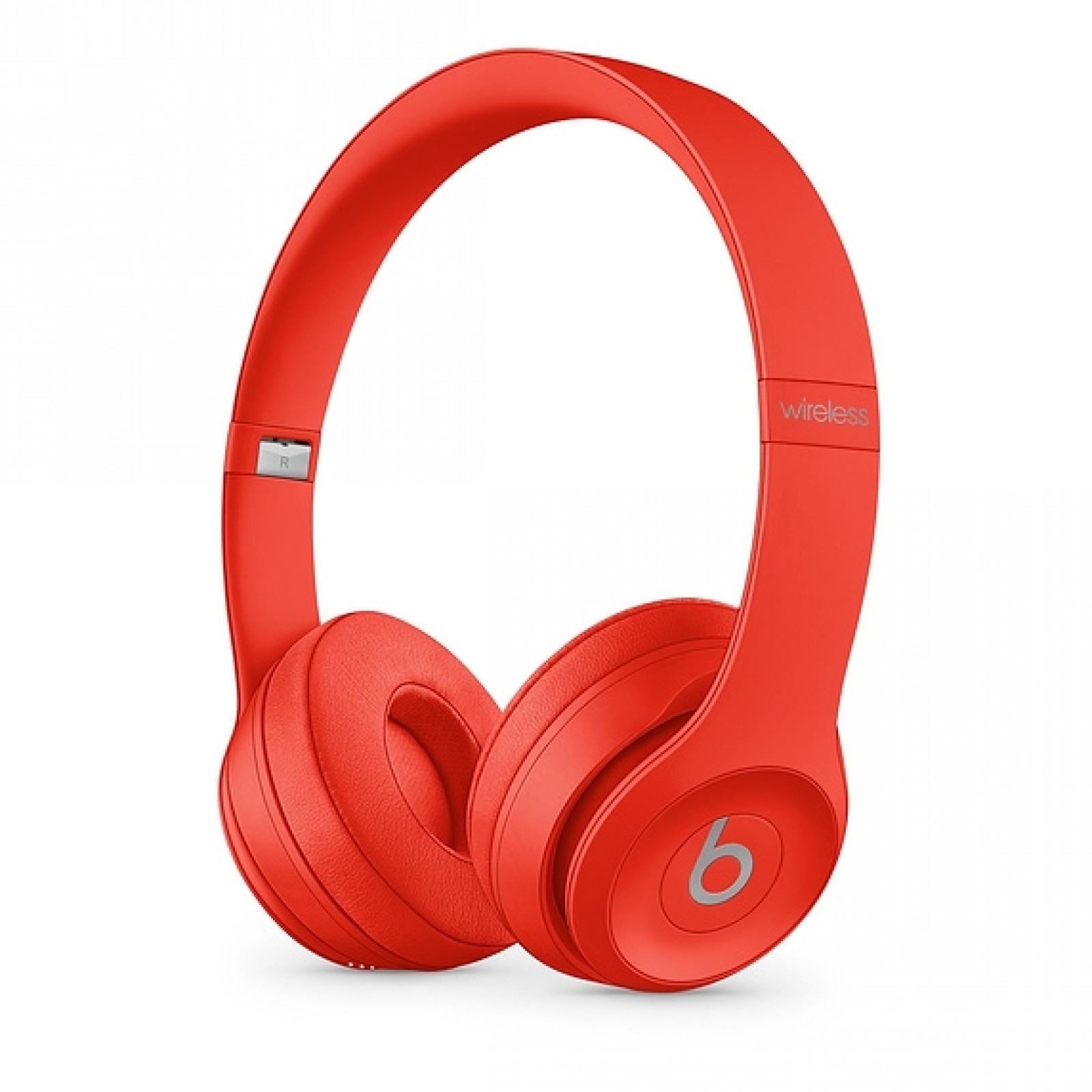 Beats Solo3 Wireless Headphones - The Beats Icon Collection - Citrus Red