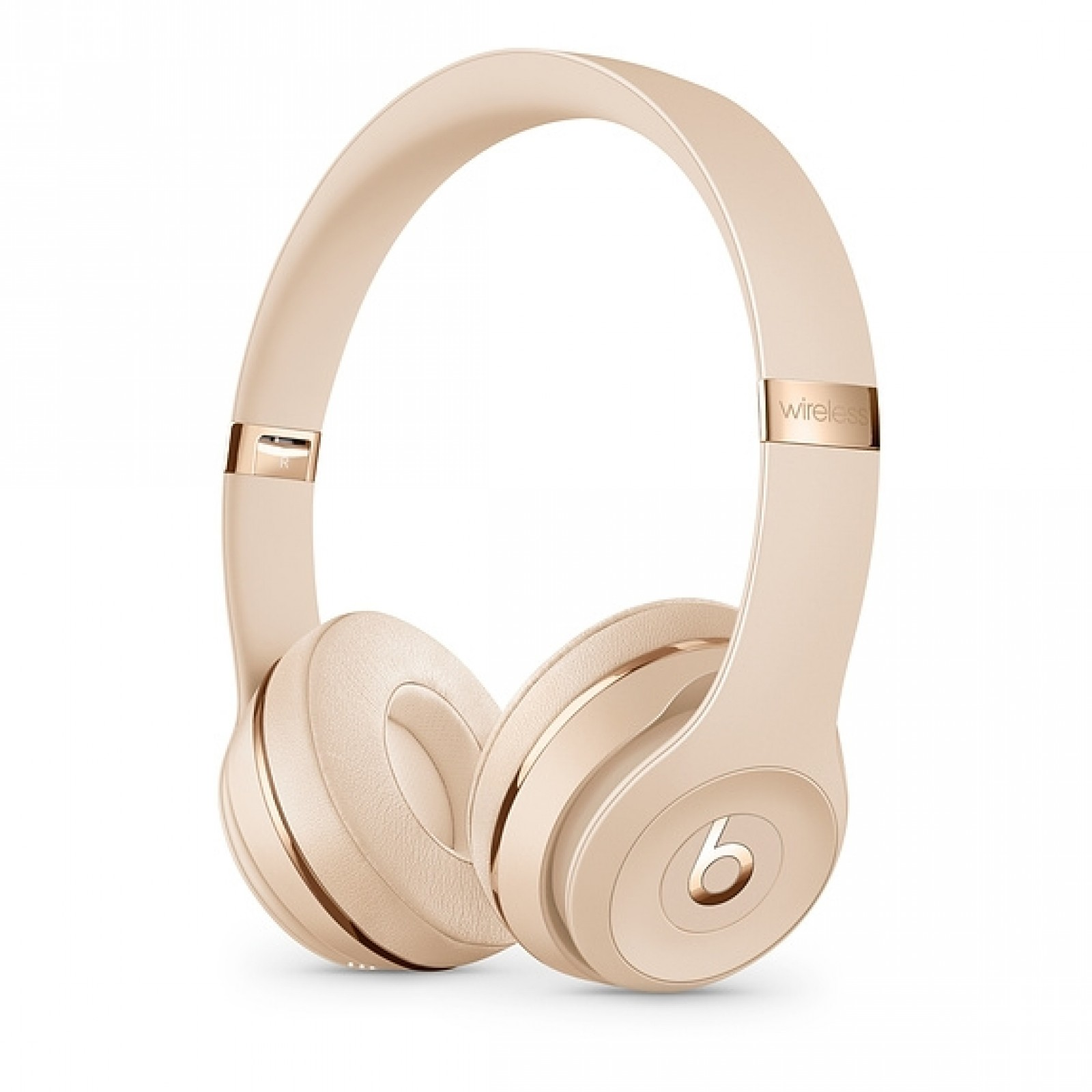 Beats Solo3 Wireless Headphones - The Beats Icon Collection - Satin Gold