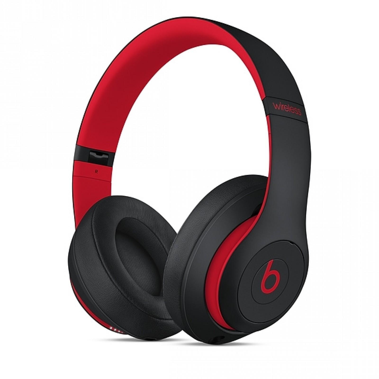 Beats Studio 3 Wireless Headphones - Beats Decade Collection - Defiant Black Red