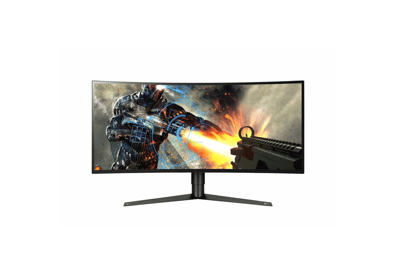 LG 34'' UltraWide™ Curved Gaming Monitor with G-SYNC™