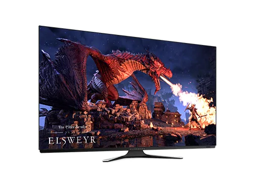 """Alienware 55"""" OLED Gaming Monitor AW5520QF"""