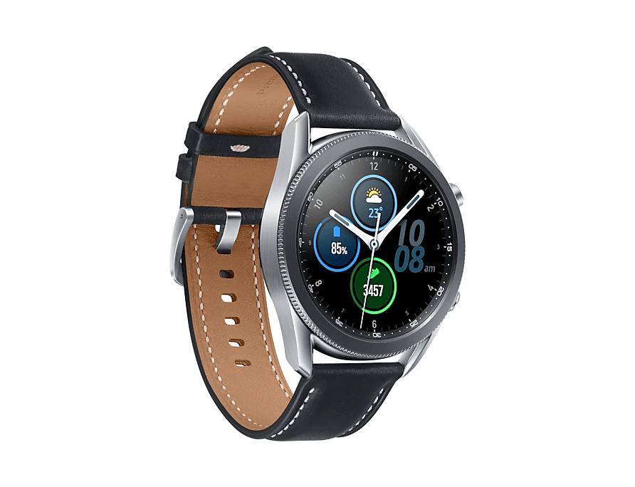 Samsung Galaxy Watch3 LTE 45mm - Mystic Silver