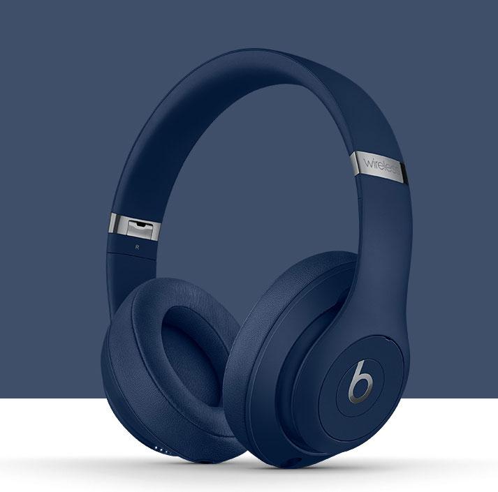 Beats Studio 3 Wireless Over-Ear Headphones - Blue