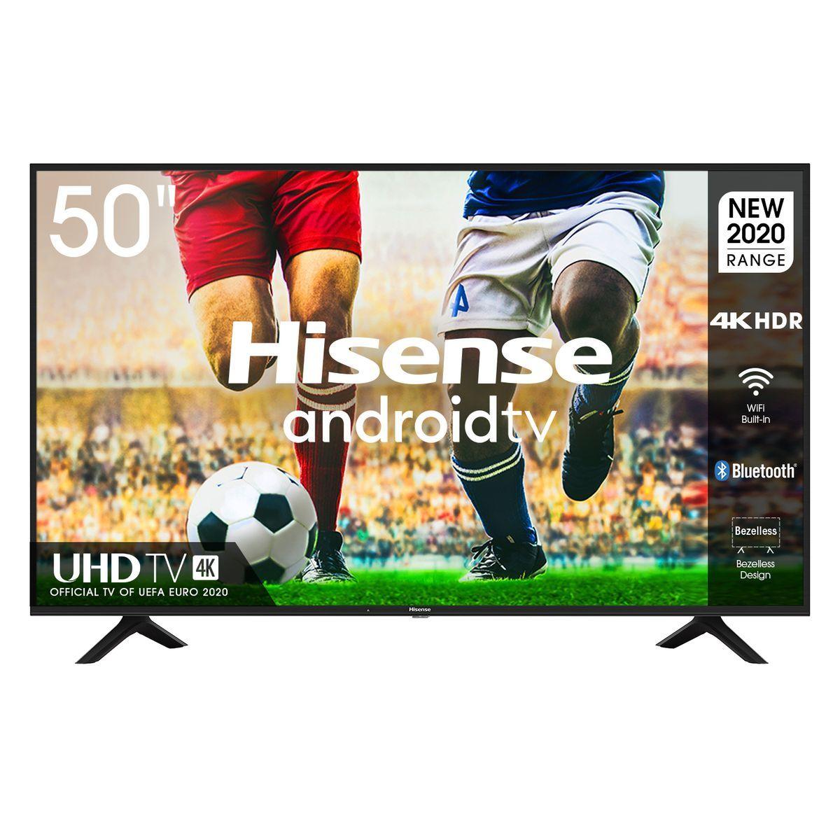 Hisense 65 inch True 4K UHD LED Matrix Frameless Android Based Smart TV