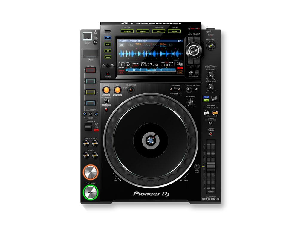 Pioneer CDJ-2000NXS2 | Performance DJ multi player with disc drive