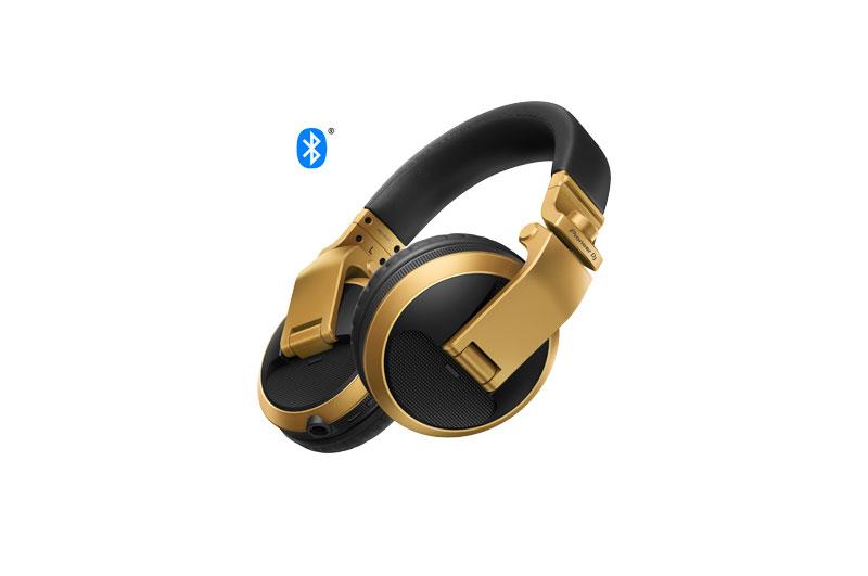 Pioneer HDJ-X5BT Gold | Over-ear DJ headphones with Bluetooth®