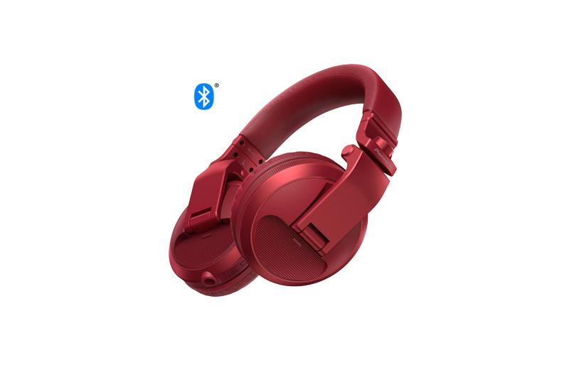 Pioneer HDJ-X5BT Red | Over-ear DJ headphones with Bluetooth®