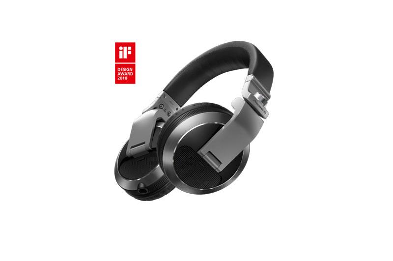 Pioneer HDJ-X7 Silver | Professional over-ear DJ headphones