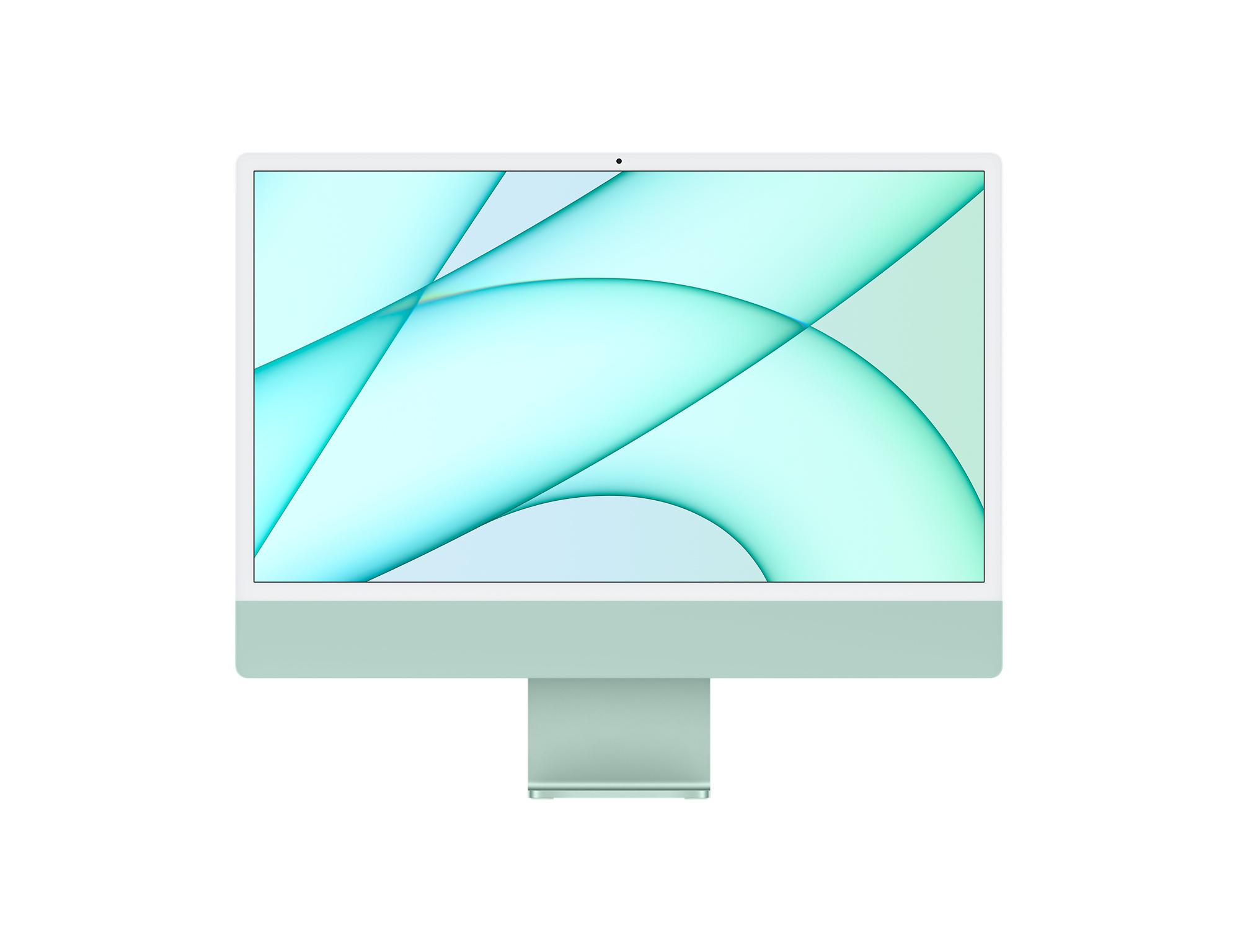 24-inch iMac with Retina 4.5K display | Apple M1 Chip | 7 core GPU | 256GB | Green