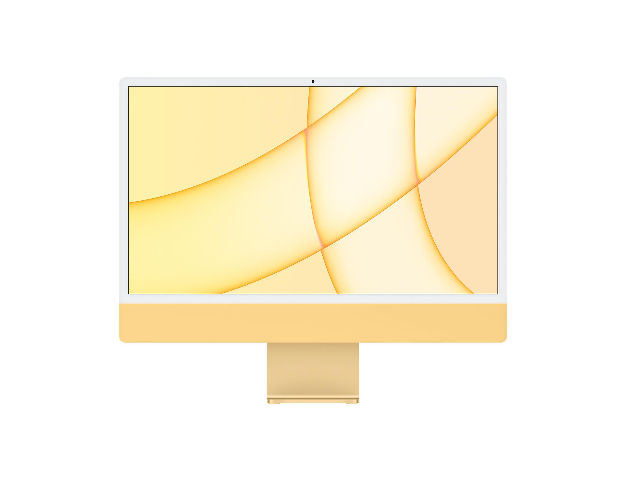 24-inch iMac with Retina 4.5K display | Apple M1 Chip | 512GB | Yellow