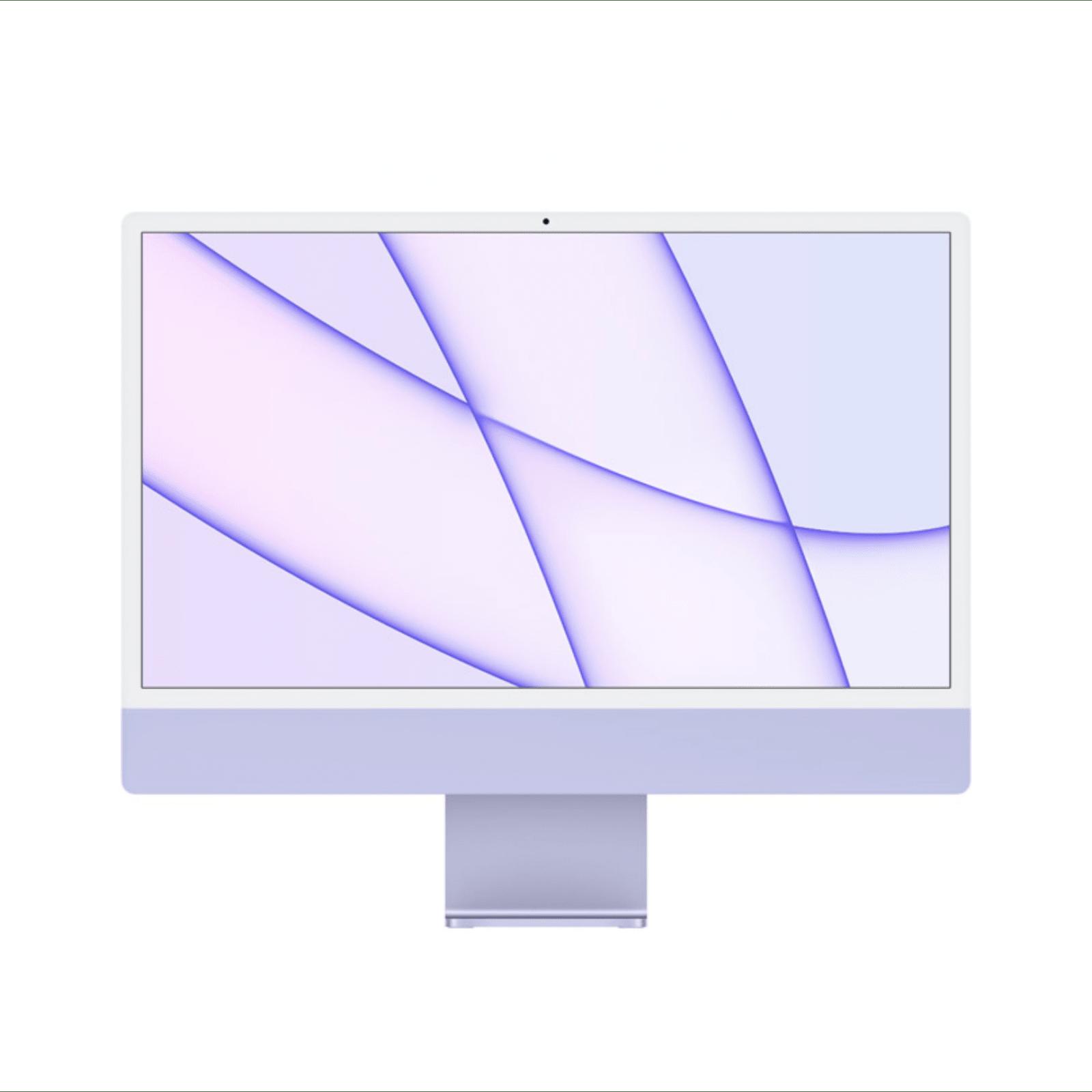 24-inch iMac with Retina 4.5K display | Apple M1 Chip | 256GB | Purple