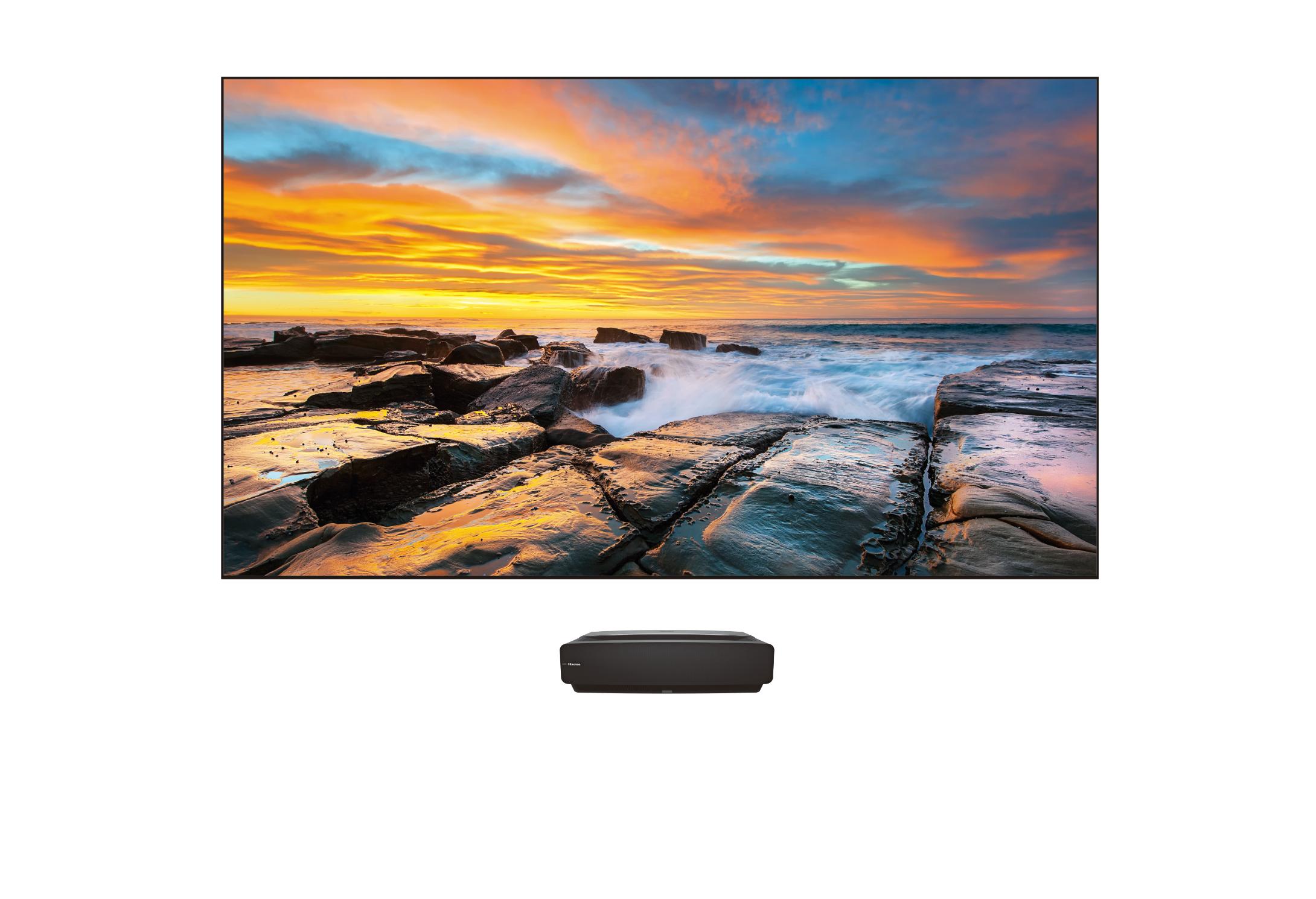 Hisense 120″ LASER 4K Smart TV– 120L5F